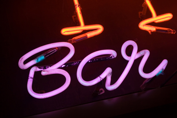 Bespoke Neon Sign for a Bar in London