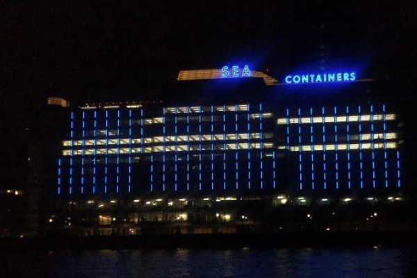 Architectural Neon Signs, Sea Containers London