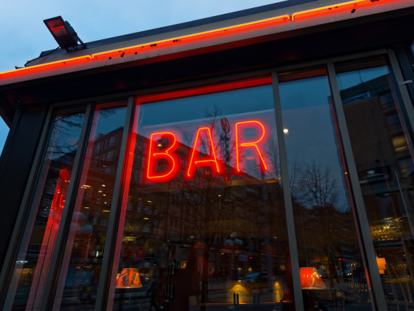 Neon Building Signs, Bar Neon Sign