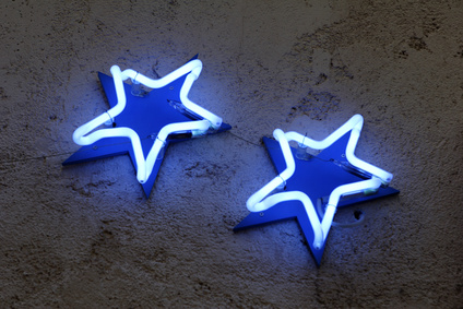 Bespoke Signs London, Stars for Hotel