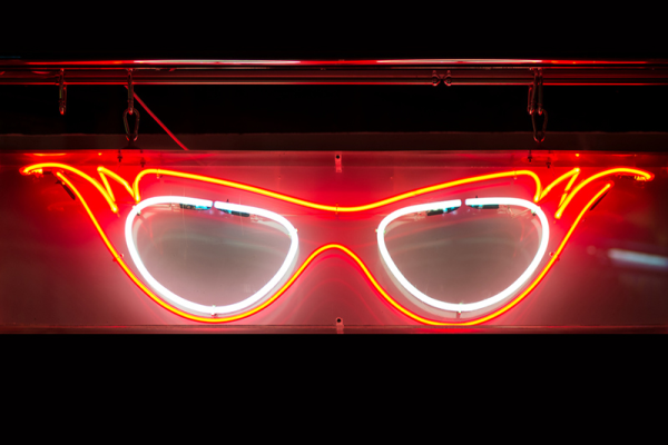 Bespoke Neon Signs London, Fancy Glasses